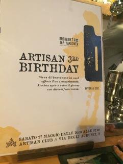 Artisan Pub, Rome